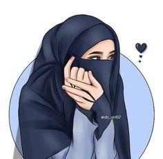 Cartoon Girl Drawing, Girl Cartoon, Muslim Girls, Muslim Women, Islamic Girl Images, Islamic Cartoon, Background Images For Editing, Anime Muslim, Hijab Cartoon