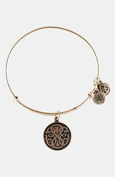 I soooo want this!!!!!! :p yes I'm making myself poor buying jewelry Alex and Ani 'Path of Life' Wire Bangle | Nordstrom - GOLD $24.00