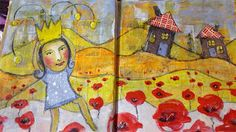 CROWNS for ART JOURNAL JOURNEY MONTHLY CHALLENGE
