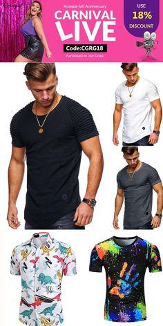 Lcoco/&Dream Mens Badminton Shirt Dry Fit Sport T Shirt Wokout Shirts Tees for Men