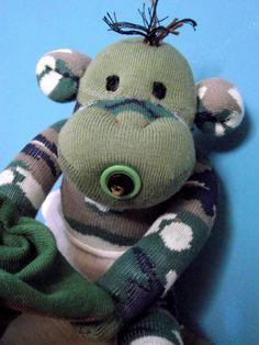 "Baby ""Boo"" the Sockamajig Monkey"