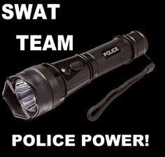 First Tactical Medium Duty Light Police Security Patrol Flashlight Torch Black