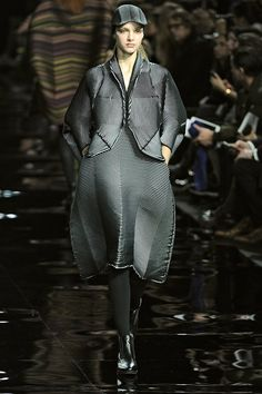 Pin for Later: The 12 Fashion Trends You'll Be Wearing This Fall  Issey Miyake Fall 2015