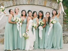 long bridesmaid dres