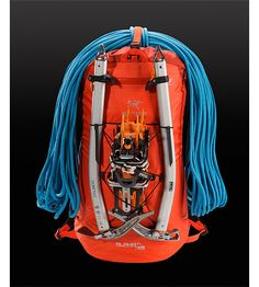 Alpha FL 45 Alpha Series: Climbing and alpine focused systems | FL: Fast and Light. Ultralight and highly weather resistant 45 litre climbing pack suited to fast and light alpine, ice, rock, and ski mountaineering routes.
