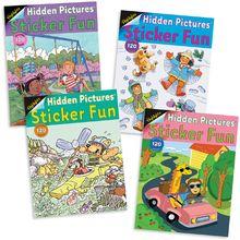 Highlights Sticker Fun Books: Set of 4