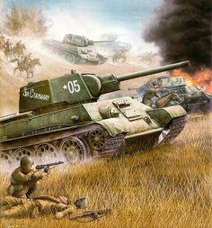 T-34 Za Stalina!