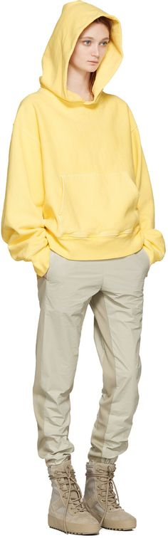 YEEZY Season 3 - Yellow Fleece Hoodie