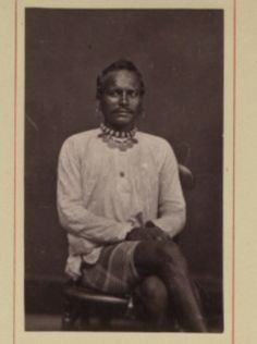 An East Indian Immigrant after a few years in the colony of Guyana. 1870-1931