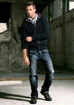 Outfit sueter negro
