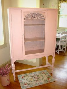 Pink Armoire - Love it! Pink Furniture, Dream Furniture, Colorful Furniture, Shabby Chic Furniture, Vintage Furniture, Painted Furniture, Repurposed Furniture, Redoing Furniture, Plywood Furniture