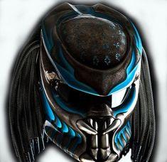 Predator Helmet Street Fighter Mix Carbon and Roving Material DOT Approved by CelloShancangHelmet on Etsy