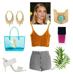 """""""Summmmer"""" by liedie ❤ liked on Polyvore featuring Alexander Wang, Target, Sandy Liang, Venyx and Witchery"""