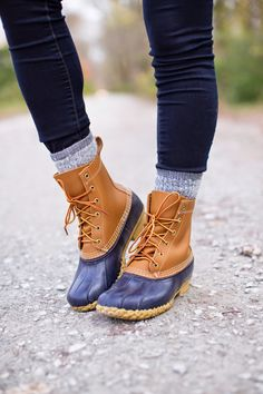 fall fashion & fall style, bean boots // a southern drawl