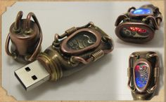 Steampunk Flashdrive