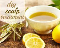 Easy Homesteading: DIY Coconut Oil Scalp Treatment Recipe