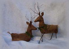 PatternMart.com ::. PatternMart: Old Style Primitive Reindeer