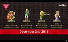 Beautiful new Zelda #amiibo announced! - #Zelda30