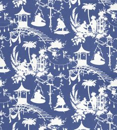 I am excited to be partnering with Thibaut to bring you their latest Chinoiserie pattern called South Sea, part of their new Resor. Chinoiserie Fabric, Chinoiserie Wallpaper, Chinoiserie Chic, Fabric Wallpaper, Wall Wallpaper, Love Blue, Blue And White, Textiles, South Seas