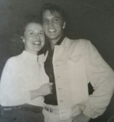 Elvis Presley at the Mint Club in Gladewater, Texas 23 November 1954