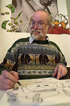 Don Rosa, cartoonist/illustrator, writer. Comic Book Artists, Comic Books, Don Rosa, My Art Studio, Illustrator, Writer, My Arts, Inspirational, Japanese