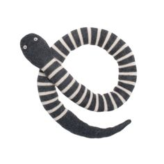 Oeuf snake / grey and white http://www.knuffelsalacarte.nl/knuffelslang-roze-p-16818.html