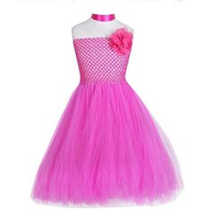 717fd1b0141 Robe cérémonie tulle fille - robe petite fille d honneur type tutu couleur  rose pour