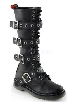 Rage Buckle Boots
