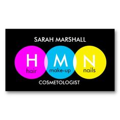 Pop Cosmetologist Business Card