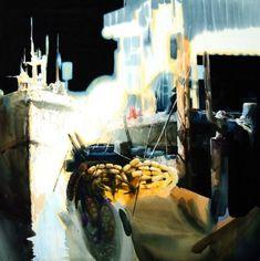 여백을 즐기는 수채화의 대가 [신종식] 화가 : 네이버 블로그 Art Pictures, Art Pics, Abstract Art, Watercolor, Painting, Boats, Water Colors, Art Production, Art Images