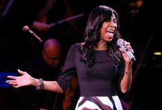 """Singer Natalie Cole performs at """"An Evening of SeriousFun Celebrating the Legacy of Paul Newman,"""" hosted by the SeriousFun Children's Network at Avery Fisher Hall, Monday, March 2, 2015, in New York."""