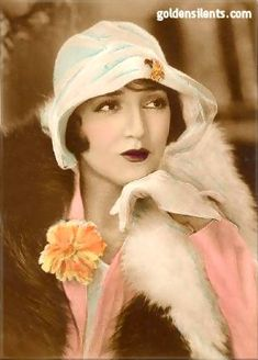 Bebe Daniels was a silent & sound film    actress, singer, dancer, writer and producer. She began her career in Hollywood during the silent movie era as a child actress, became a star in musicals like 42nd Street, and later gained further fame on radio and television in the UK . Married to Ben Lyon. 1901-71
