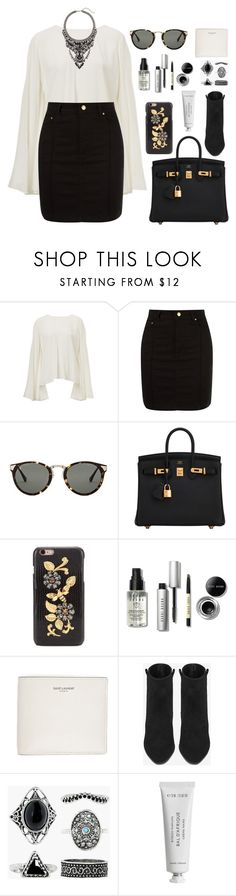 """Penny Lane"" by lola-styleson ❤ liked on Polyvore featuring Amapô, Raen Optics, Hermès, Dolce&Gabbana, Bobbi Brown Cosmetics, Yves Saint Laurent, Boohoo, Byredo and Cristabelle"