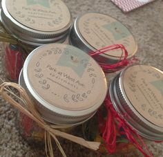 Mason jars filled with candy as a marketing gift for apartments. Real Estate Marketing, Business Marketing, Marketing Ideas, Insurance Marketing, Label Image, Moving Gifts, Realtor Gifts, Property Management, Helpful Hints