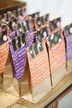 違う柄の折り紙を4等分して、上からホチキスで留めたら完成です!パーティーのお土産など、ラッピングバッグをたくさん揃えたい時にぜひ真似してみて下さいね♪ Wraps, Gift Wrapping, Diy Crafts, Halloween, Happy, Blog, Gifts, Craft Ideas, Gift Wrapping Paper