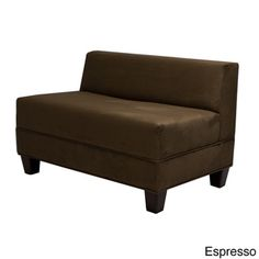 Makenzie Khaki Loveseat | Overstock™ Shopping - Great Deals on Sofas & Loveseats
