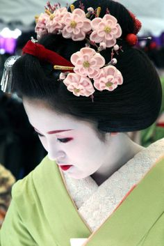 Lovely Japanese Geisha