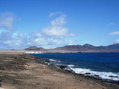 Desde el faro de la punta de Jandía vista del caserío Puertito de la Cruz   Flickr - Photo Sharing!