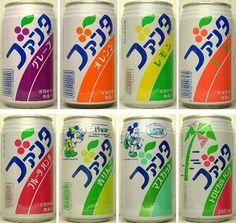 Even Japanese cans of Fanta are cool. Retro Design, Vintage Designs, Logo Design, Graphic Design, Japan Package, Retro Aesthetic, Retro Toys, Vintage Recipes, Vintage Japanese