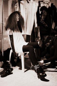 Rick Owens Fall 2013, Paris Fashion Week
