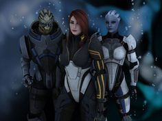 Mass Effect - Perfect Squad-my_favorite_squadmate_by_divalola-d56qhp5 - i've just started playing this game and love it!