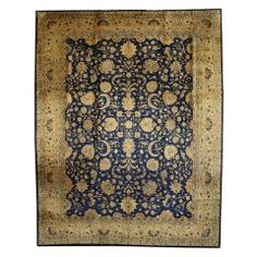 Antique Indian Agra Rug with Hollywood Regency Style