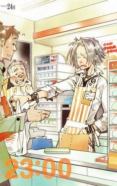 Gokudera would be the best employee