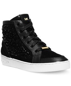 MICHAEL Michael Kors Nadine High Top Sneakers - Shoes - Macy's
