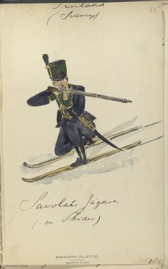 Finnish Ski Troops, The Vinkhuijzen collection of military uniforms, 1783-1811