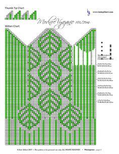 "Photo from album ""Варежки ))) схемы"" on Yandex. Knitting Charts, Knitting Stitches, Knitting Patterns, Knitted Mittens Pattern, Knit Mittens, Fair Isle Knitting, Tapestry Crochet, Wall Photos, Bedspread"
