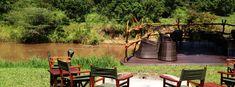 Enjoy panoramic views of the Mara River from various locations at Mara River Camp.