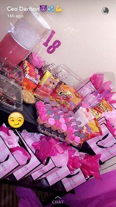 56619891f28 Victoria s Secret themed birthday party 💖