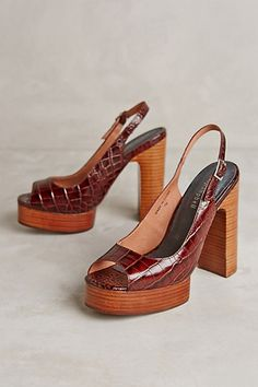 Jeffrey Campbell Michlene Platforms #anthropologie- love these shoes to go with the holiday dress!