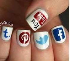 Ongles réseaux sociaux